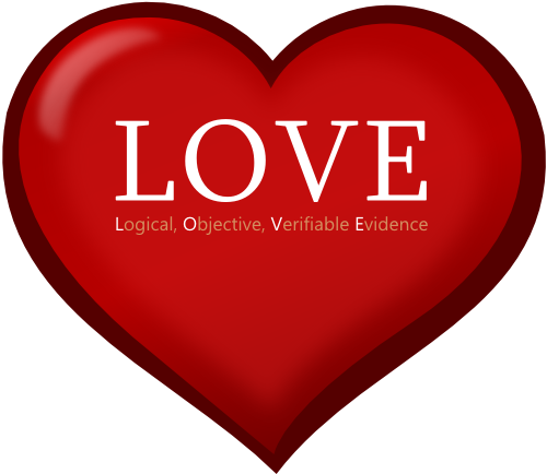 L.O.V.E. - Logical, Objective, Verifiable Evidence